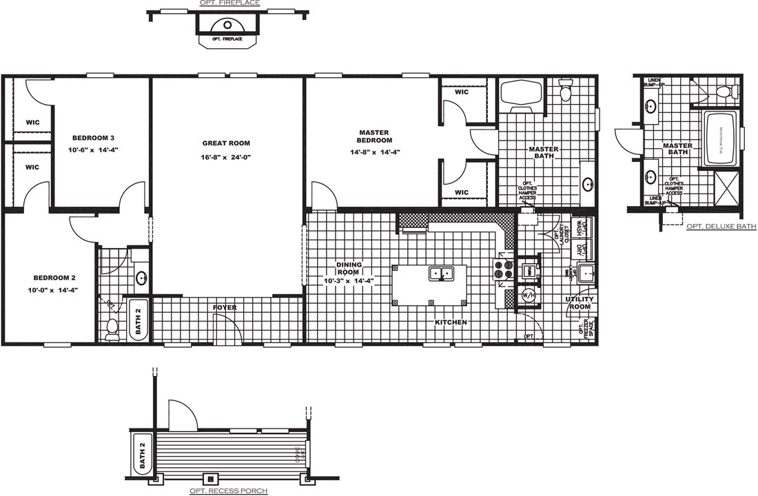 The FRONTIER Floor Plan